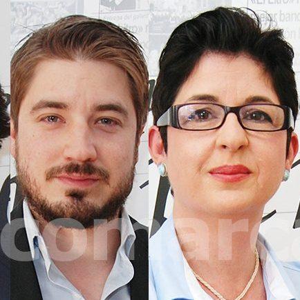 Marcial Díaz (PP), Rafa Pérez (EU), Juncal Carrascosa (PSOE), J. Luis Carrascosa (IA) y Alejandro Agustina (Votamos Buñol).