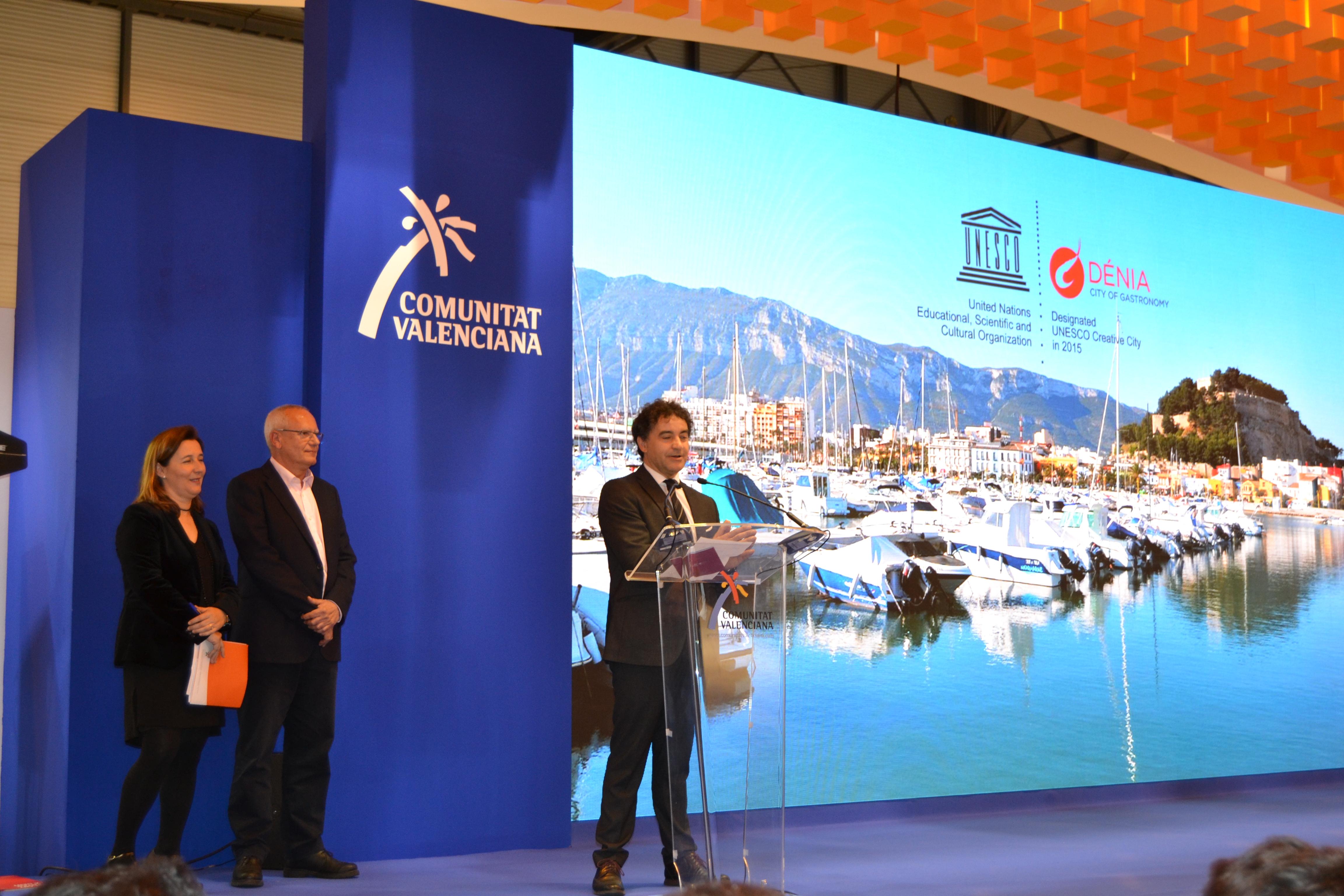 Colomer ha resaltado en Fitur su apuesta por nuevos proyectos turísticos.