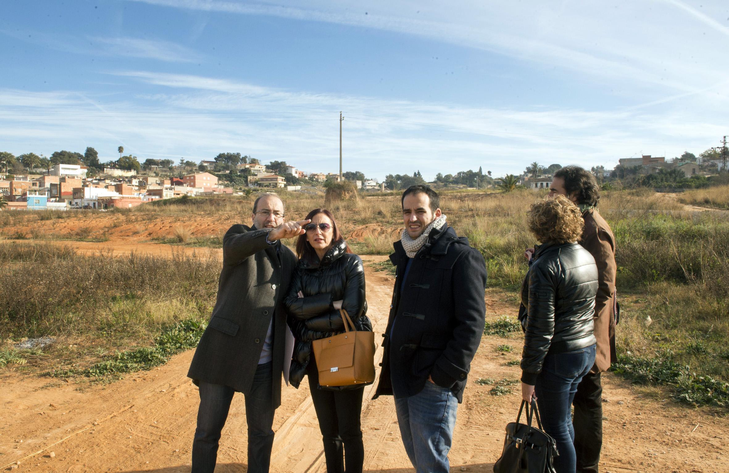 El alcalde junto a la vicepresidenta de la Diputación, Maria Josep Amigó.