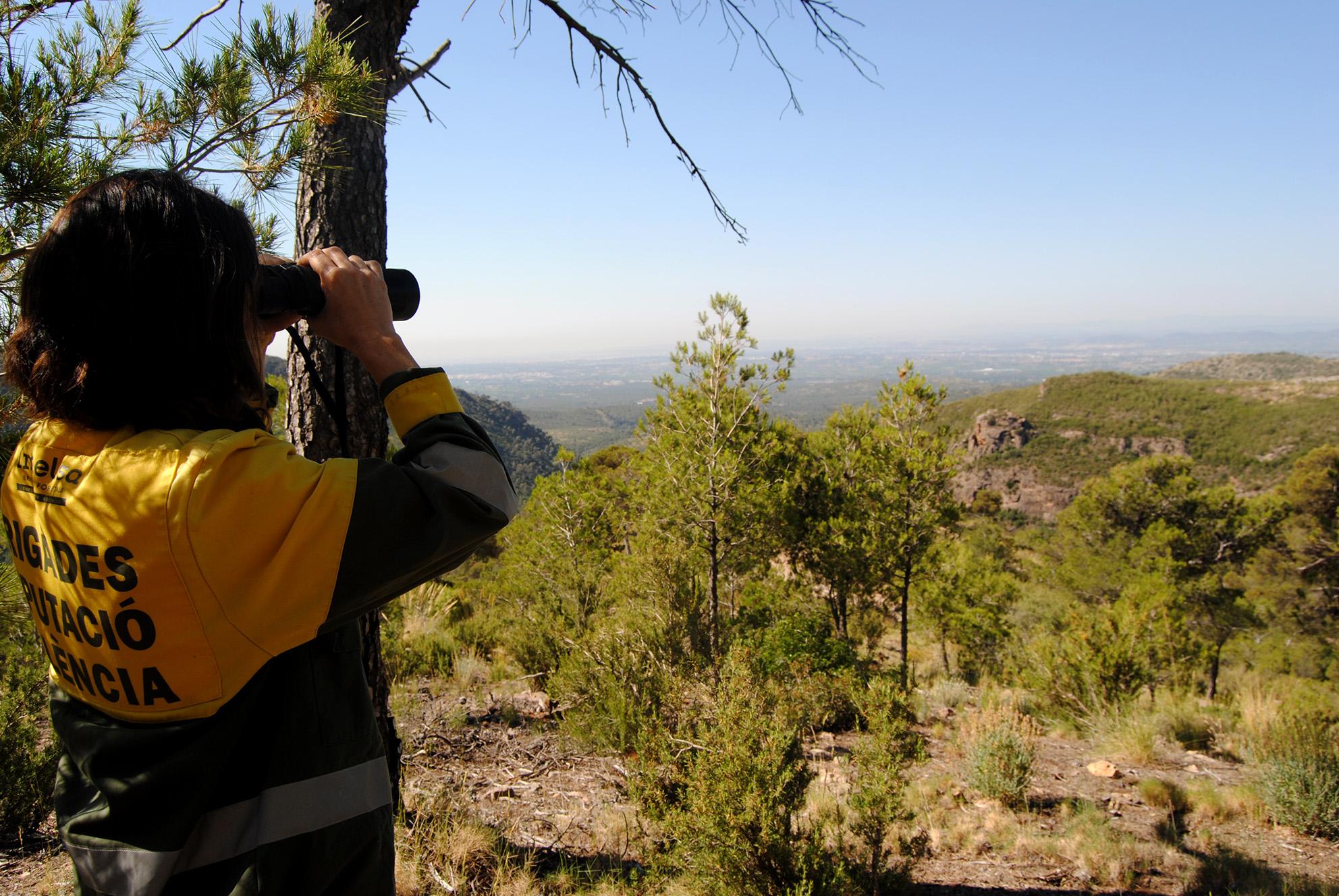 Punt de vigilància Portaceli (Serra).