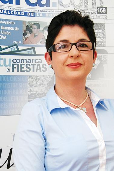 La responsable del área de Fiestas de Buñol.