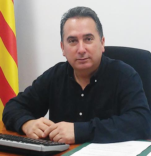 El alcalde de Yátova, Miguel Tórtola.