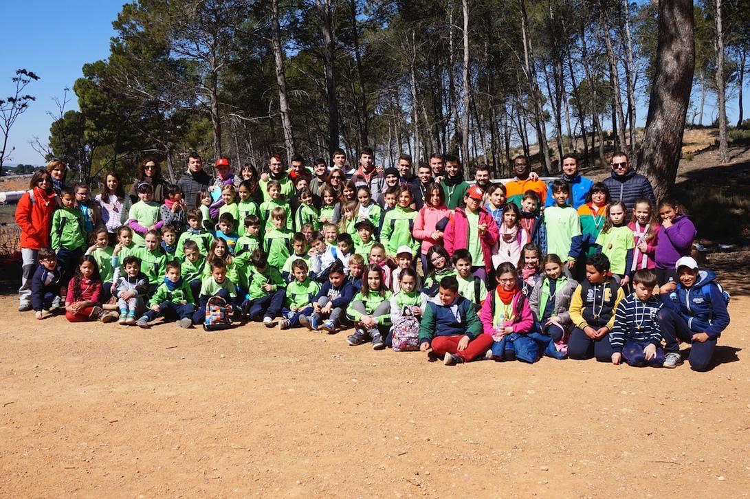 Participantes en la jornada pedagógica desarrollada días atrás en Requena.