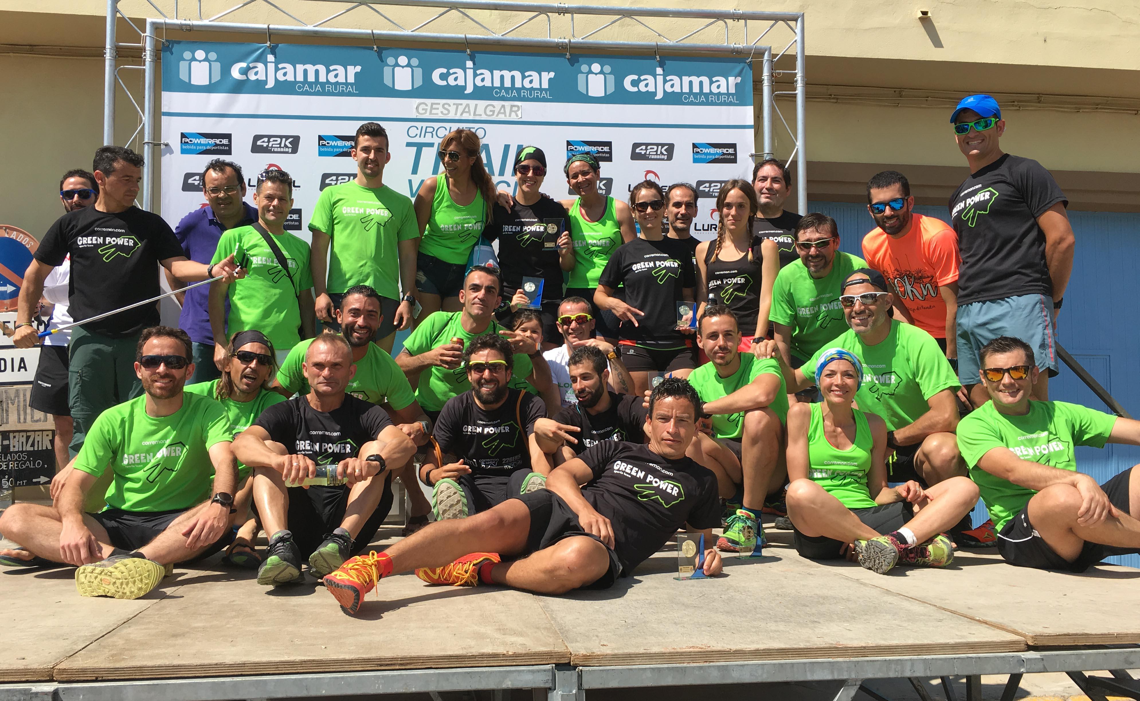 Por equipos, en ambas modalidades el ganador ha sido el Green Power Sports Team.