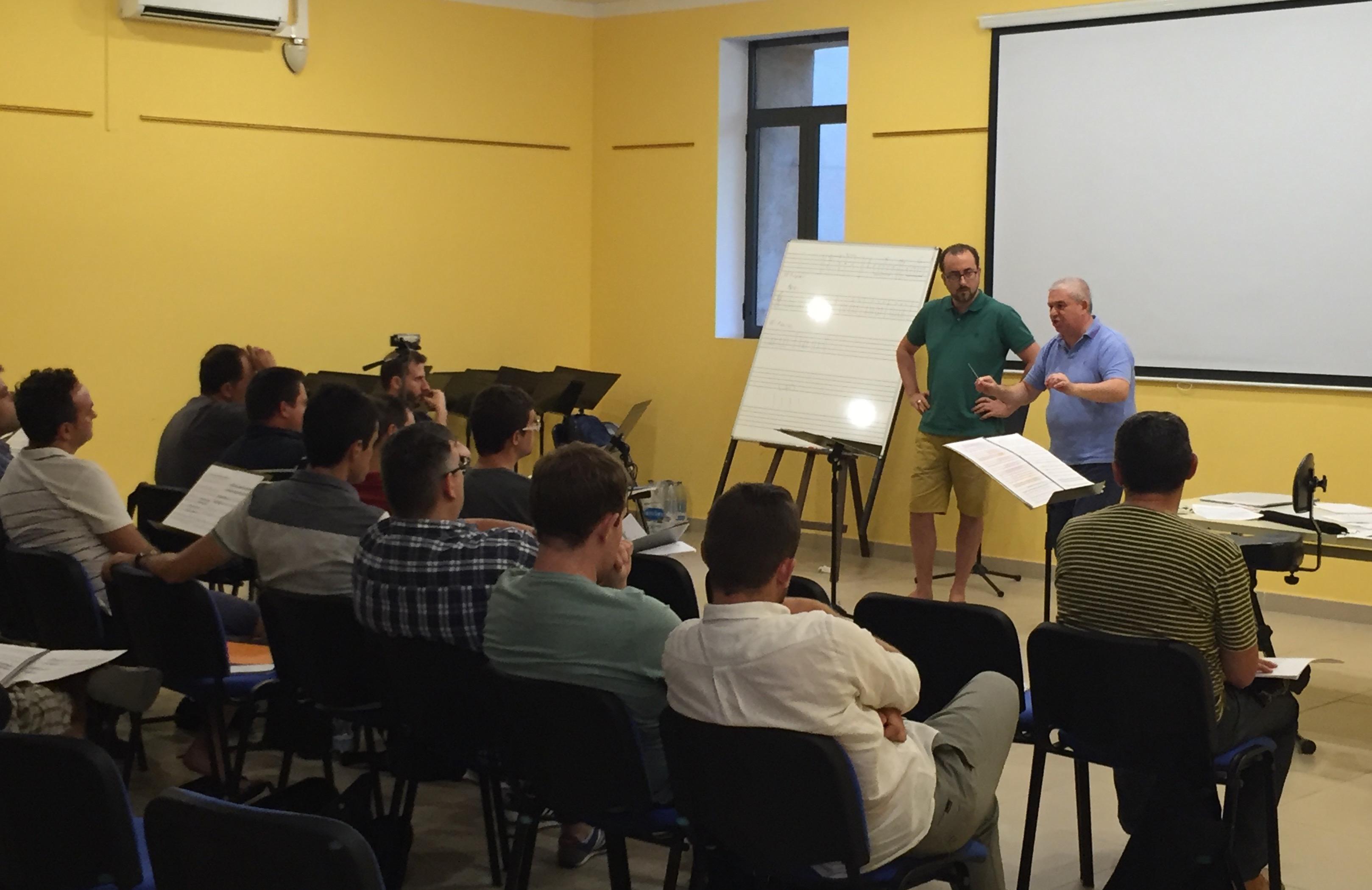 Un momento del curso que se desarrolla en la localidad de Buñol.