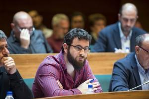 El diputado de Transparencia, Roberto Jaramillo.