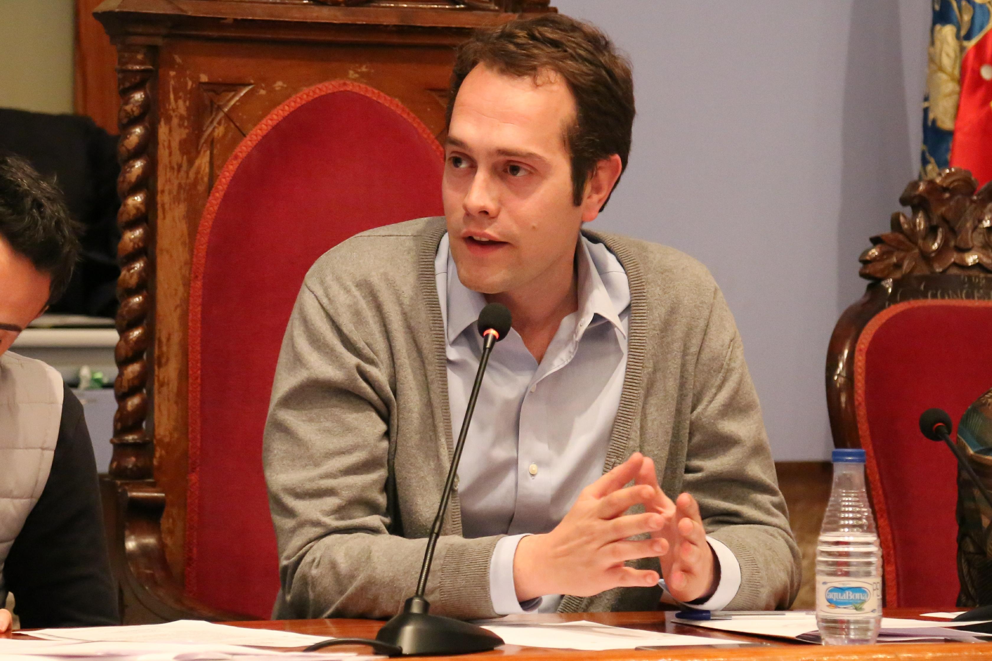 El alcalde de Cheste, José Morell.