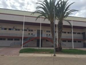 Una imagen del pabellón polideportivo de Riba-roja.