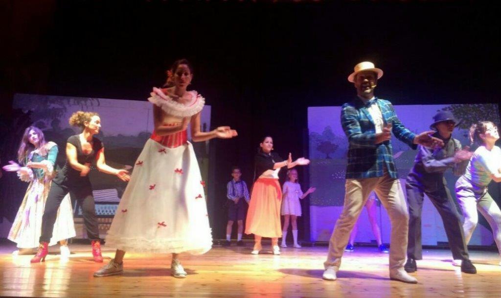 Uno de los espectáculos desarrollados en el municipio de Casinos.
