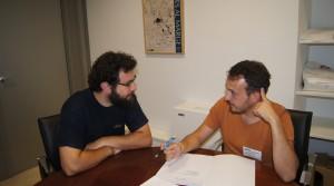 El diputado Roberto Jaramillo con el concejal de Catadau.