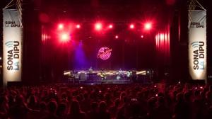 Concert IZAL amb Sona La Dipu a Ontinyent el 19 d'agost de 2016. Foto de Jordi Casanova.