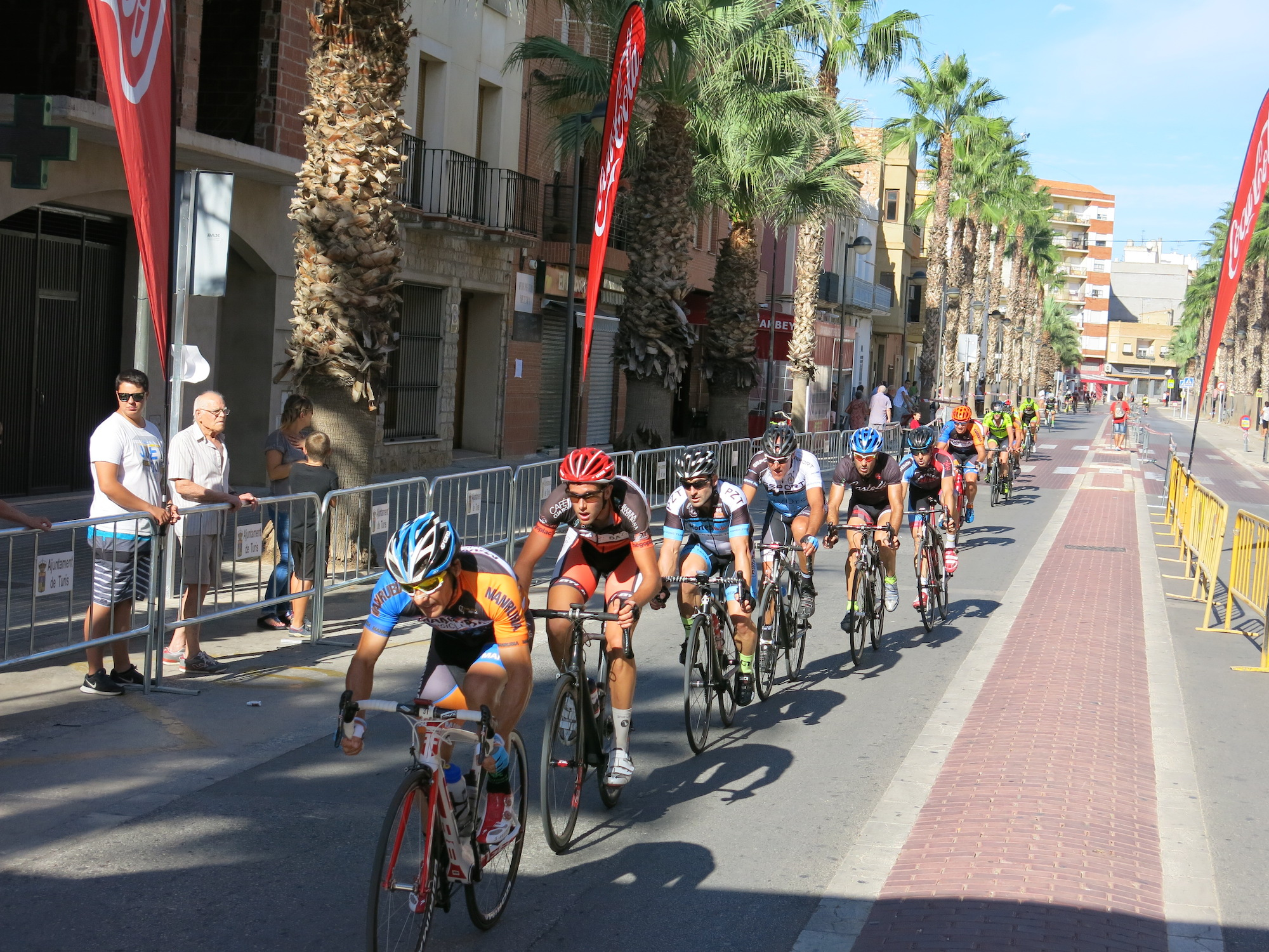 Carrera ciclista de Turís durante su edición del año pasado.