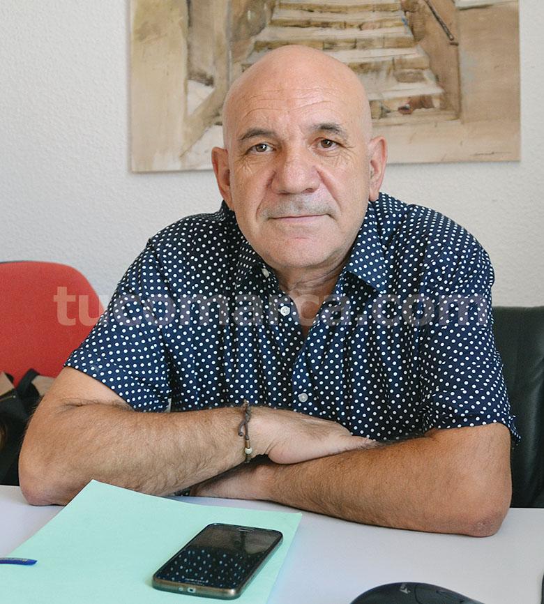 El concejal de Cultura de Buñol, Arnaldo Carrascosa.