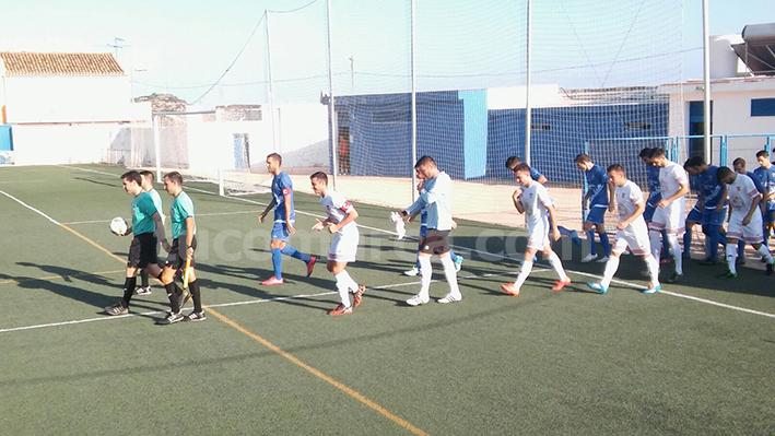 El CD Buñol durante el arranque de la temporada 2016-2017 en Tercera División.