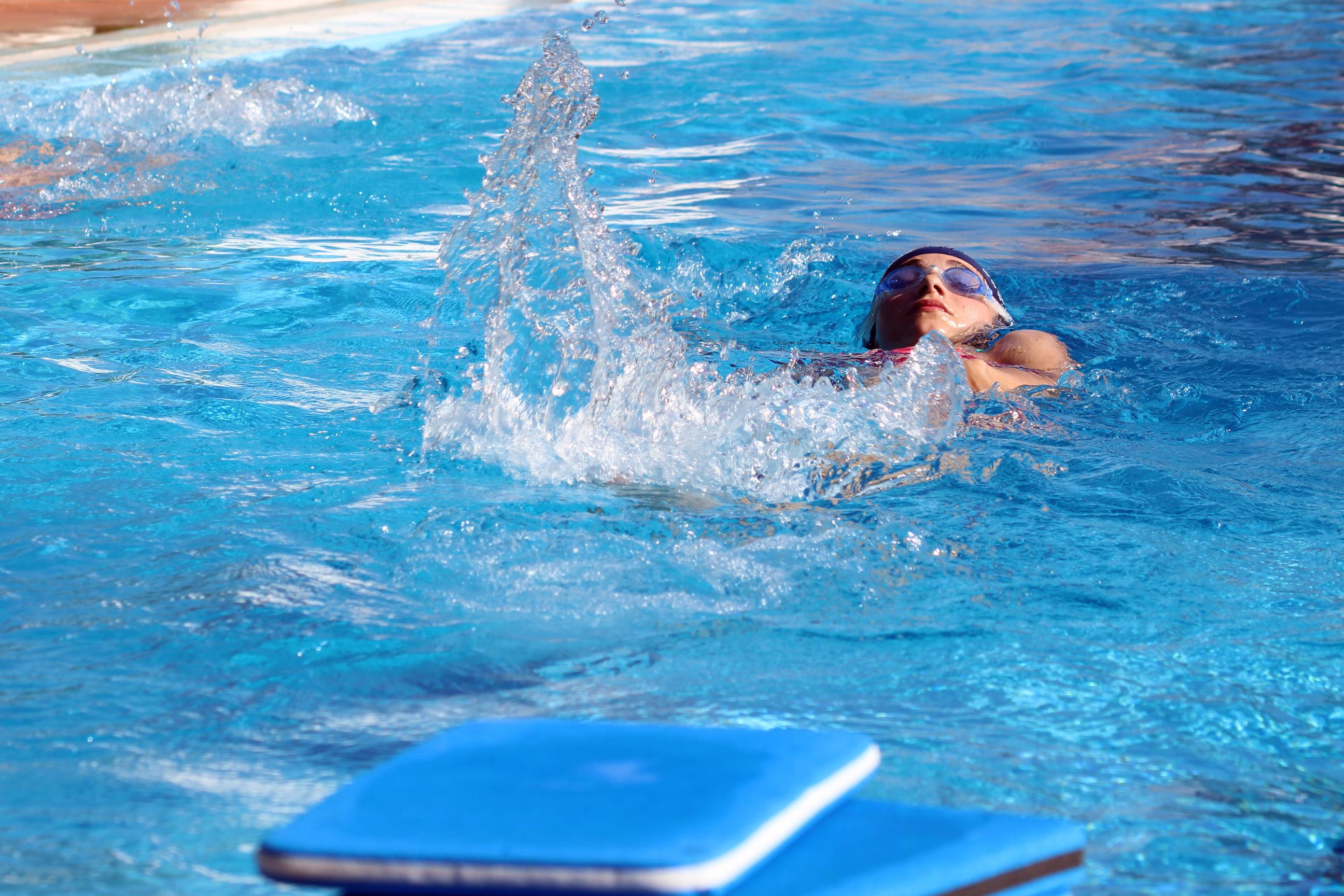 La piscina de Cheste en una imagen de archivo.