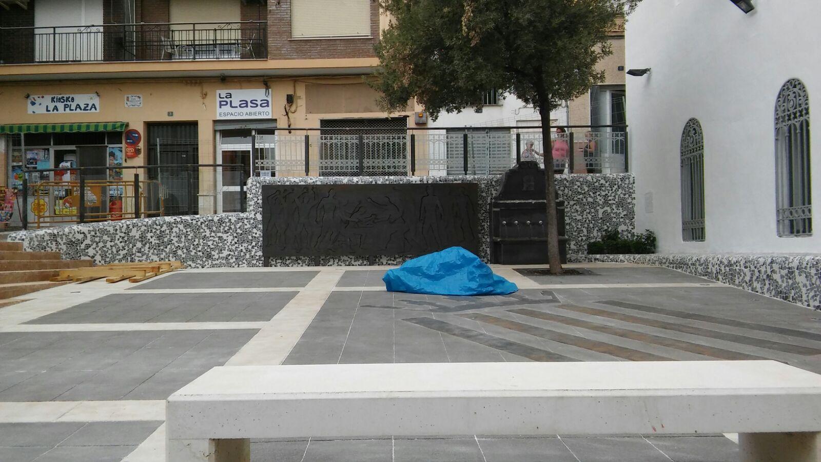La plaza de Ramón y Cajal ha sido objeto de remodelación.