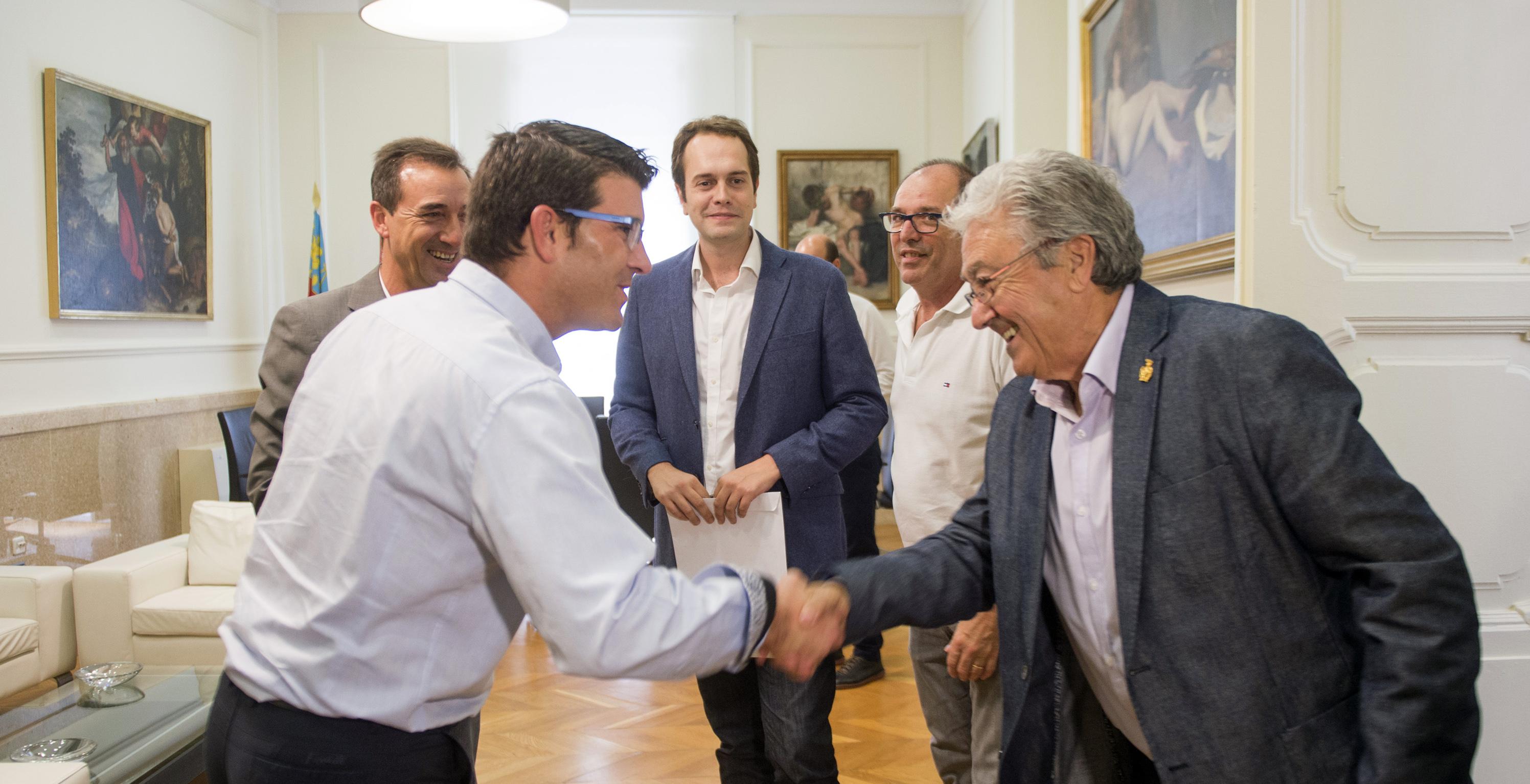La Corporación provincial colaborará en la elaboración de este proyecto de dinamización económica a través de Divalterra y la Cátedra creada por la empresa pública y la Universidad Politécnica.