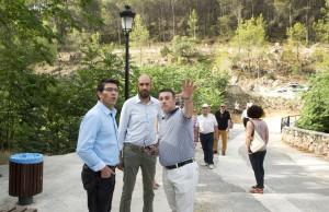 Jorge Rodríguez y Pablo Seguí en la presentación del Plan de Caminos y Viales 2016-2017.