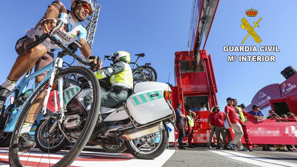 La Guardia Civil de Valencia establece un dispositivo de Seguridad con motivo de la Vuelta Ciclista a España, de mas de 70 agentes.