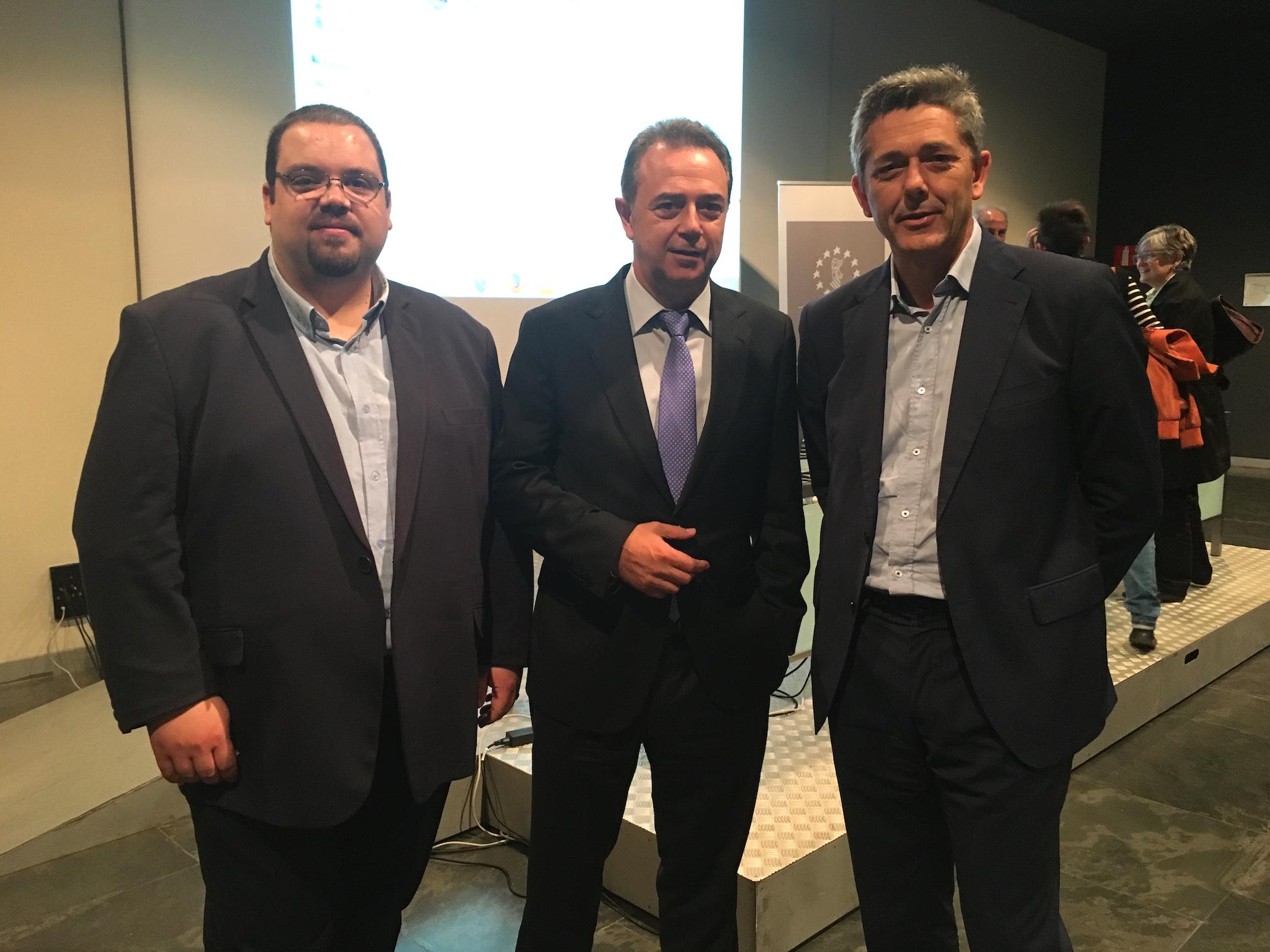 Josep Vicent, José María Vidal y José Miguel.