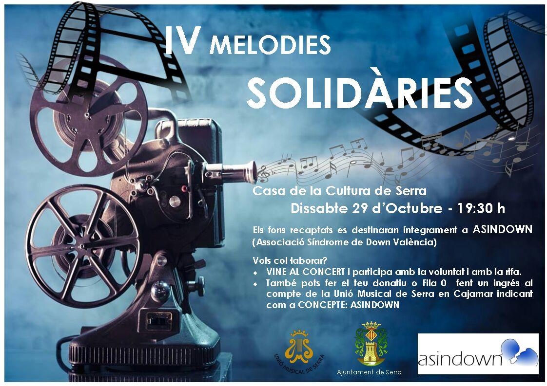 Cartel de la iniciativa en Serra.