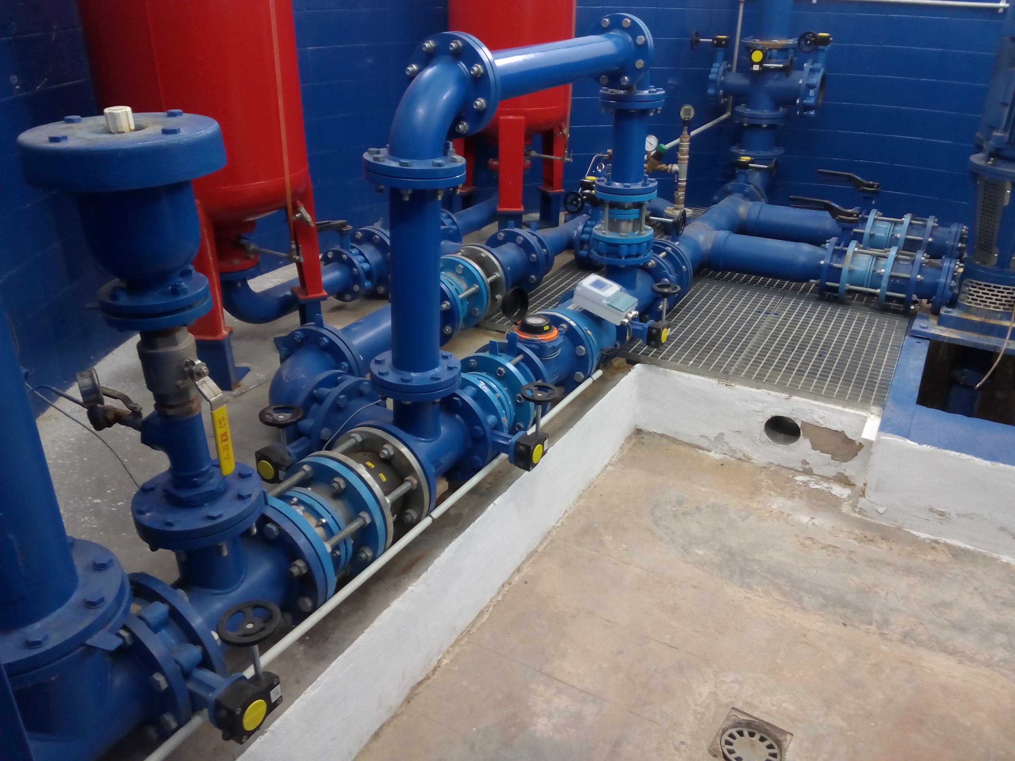 Obras de renovación de la red de abastecimiento de agua potable en Gestalgar.