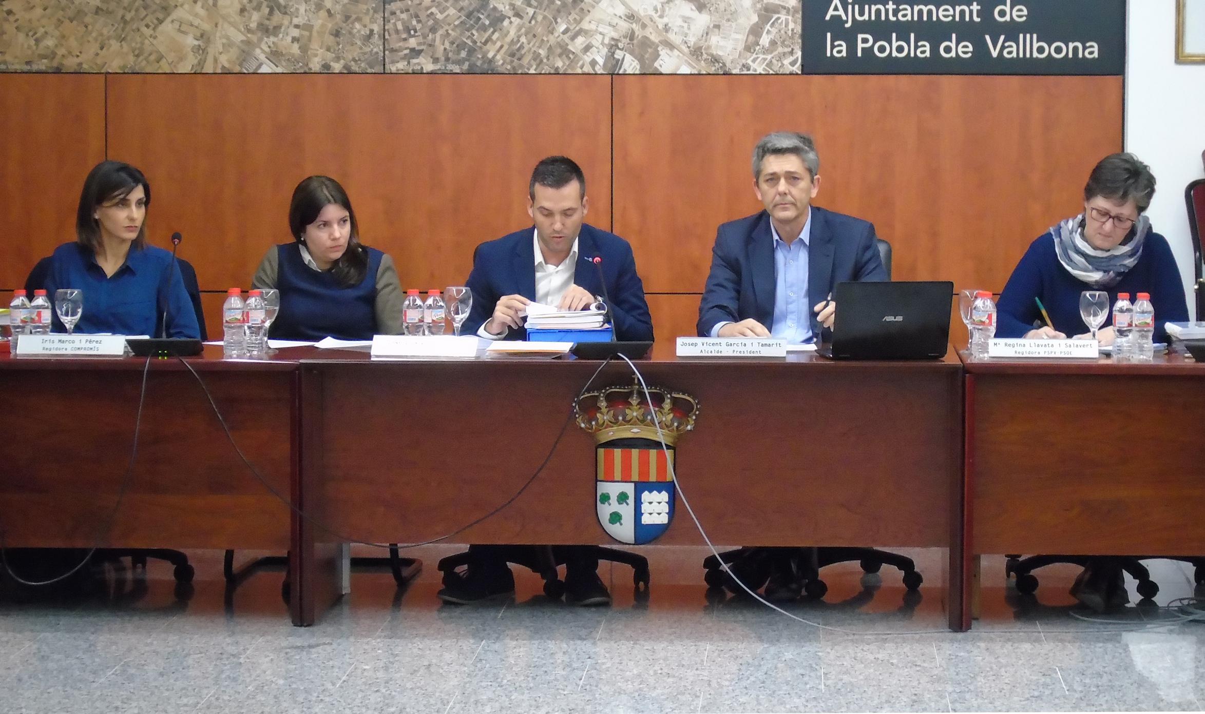 El Ayuntamiento de la Pobla de Vallbona dará voz a los vecinos a la hora de decidir parte de las inversiones que se harán en 2017.