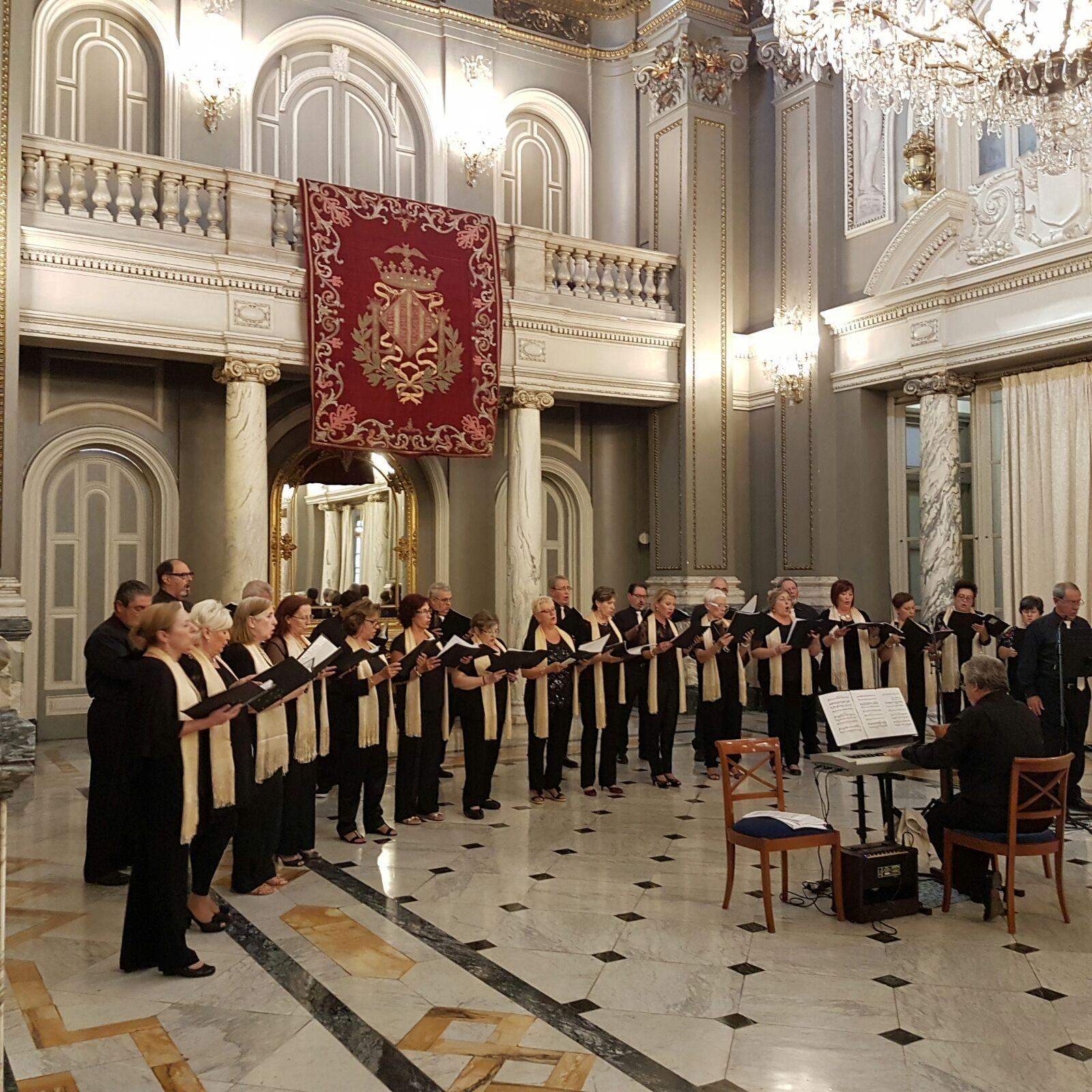 El Coro Mestre Serrano de San Antonio de Benagéber ha programado varios conciertos para estas fiestas navideñas.