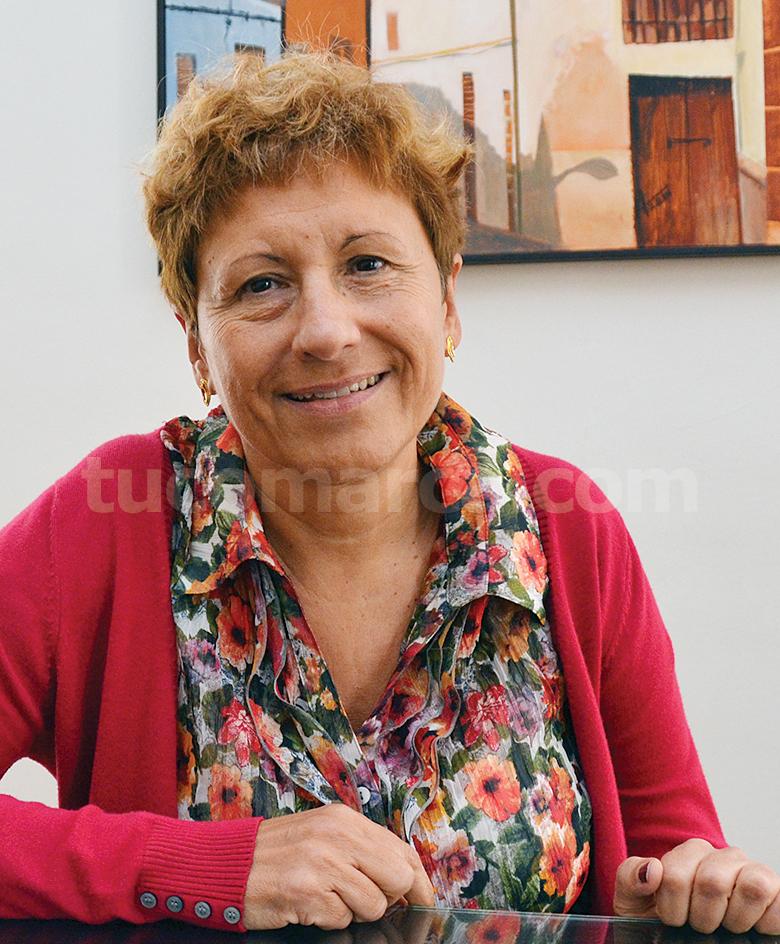 La concejala de Cultura del Ayuntamiento de Cheste, María Ángeles Llorente.