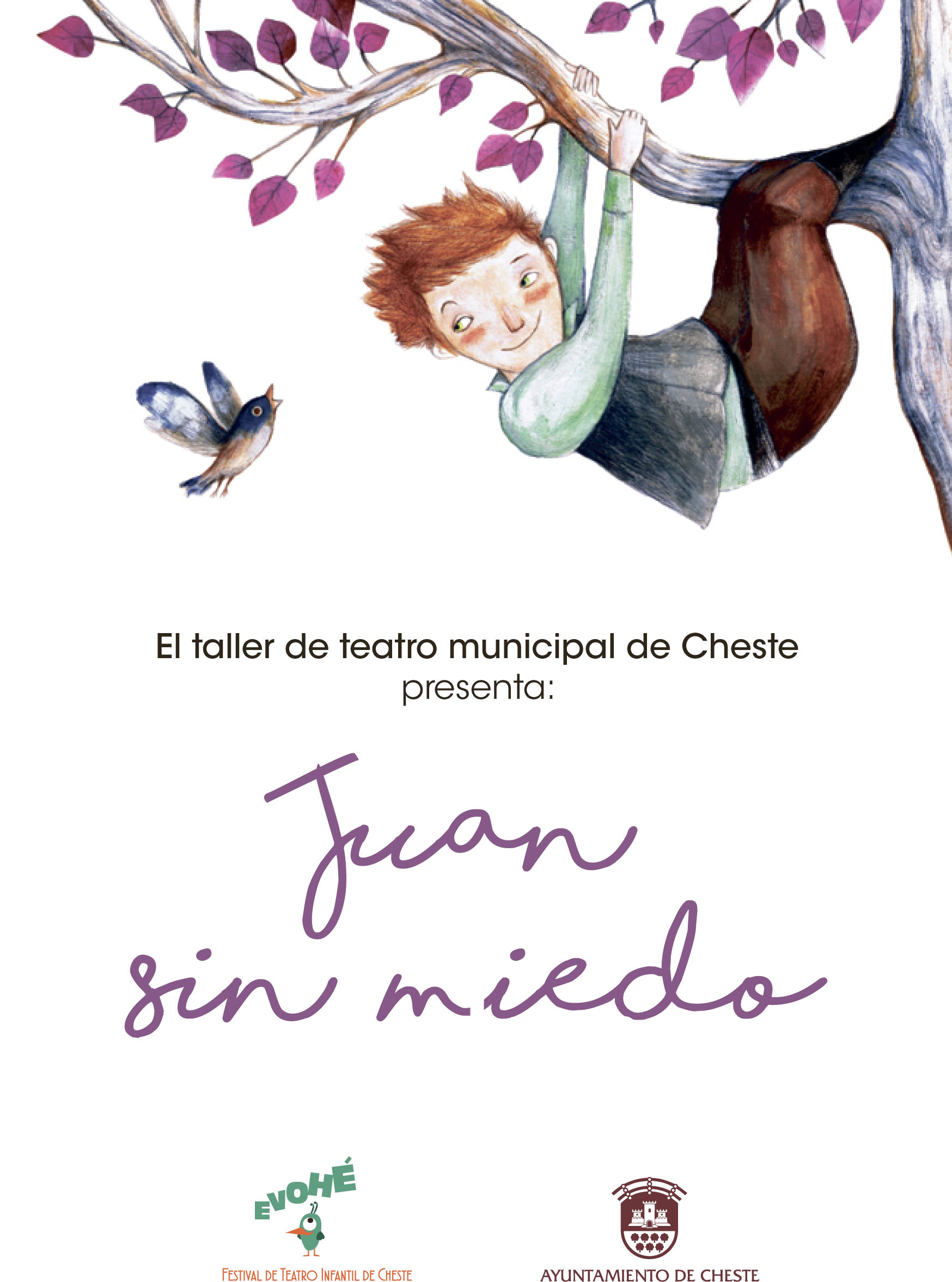 """Cartel del espectáculo de """"Juan sin miedo""""."""
