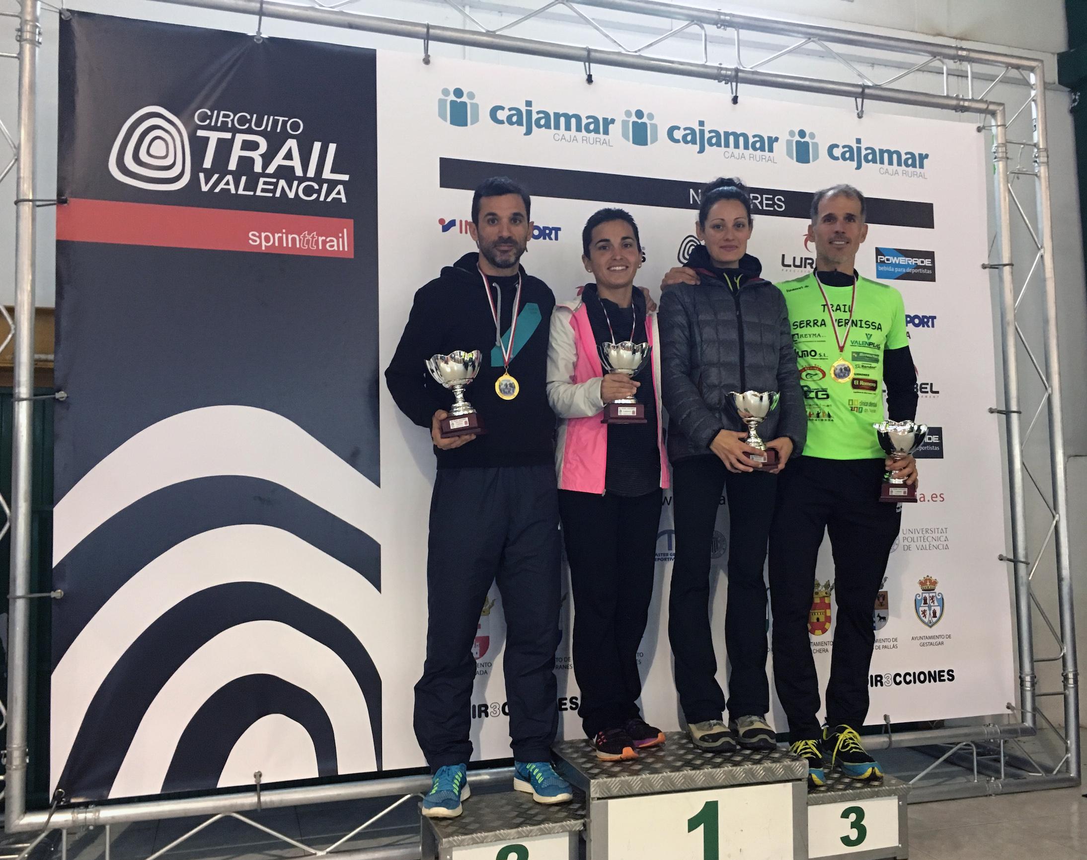De nuevo, Álex Campos se llevó la prueba más corta y le acompañó en el podio Beatriz de la Fuente. En la larga, los ganadores fueron Xavier Tomás y Claudia Guillem.