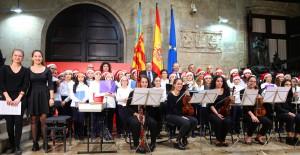 Ximo Puig ha asistido al recital de villancicos de los conservatorios de Llíria y Valencia.
