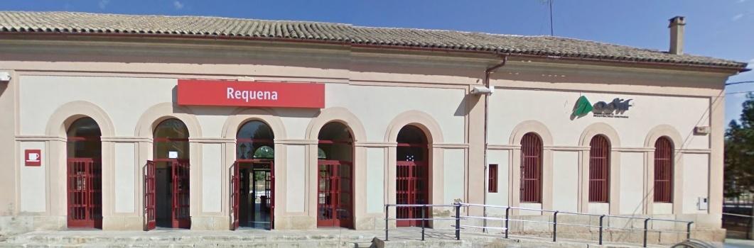 El grupo municipal de Izquierda Unida de Requena ha presentado para el próximo pleno dos mociones sobre la estación de Renfe.