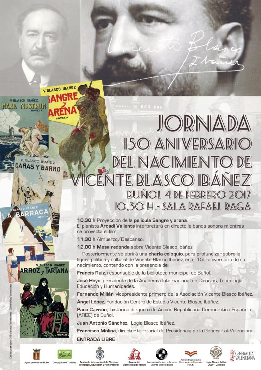 Cartel de la jornada que se desarrollará en Buñol este sábado.