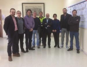 Participantes en la última comisión de sostenibilidad de Cemex realizada en Buñol en enero de 2017.