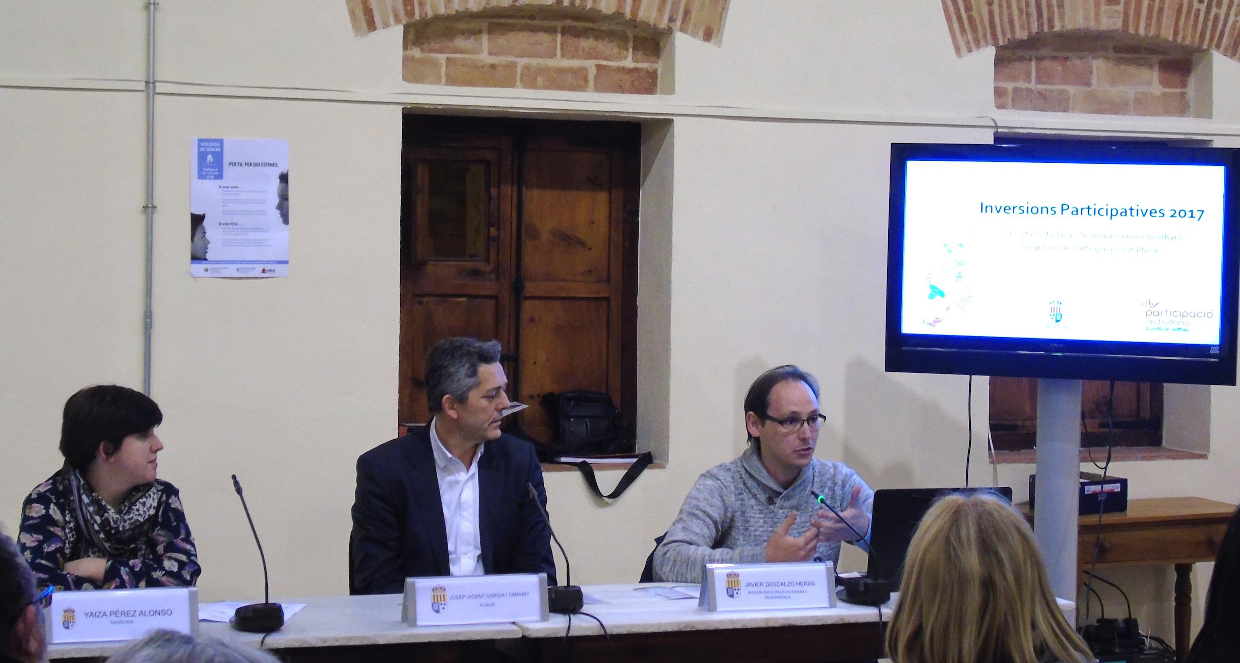 L'Ajuntament de la Pobla de Vallbona destinarà 132.000 euros del pressupost municipal a les inversions que trien els veïns.