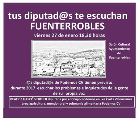Cartel de la iniciativa de Podemos.