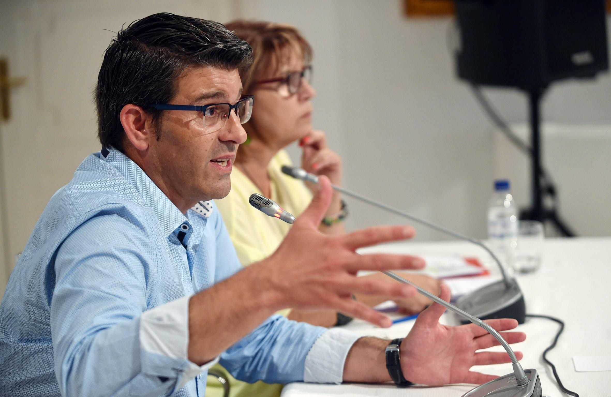 """Jorge Rodríguez asegura que la institución provincial va a seguir destinando esfuerzos y recursos para contribuir a la creación de puestos de empleo """"y no dejar a nadie en el camino""""."""