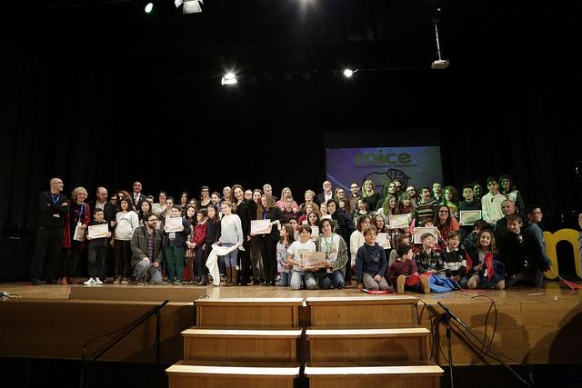 El Auditorio Municipal se llenó de público para despedir la edición de 2017 del certamen.