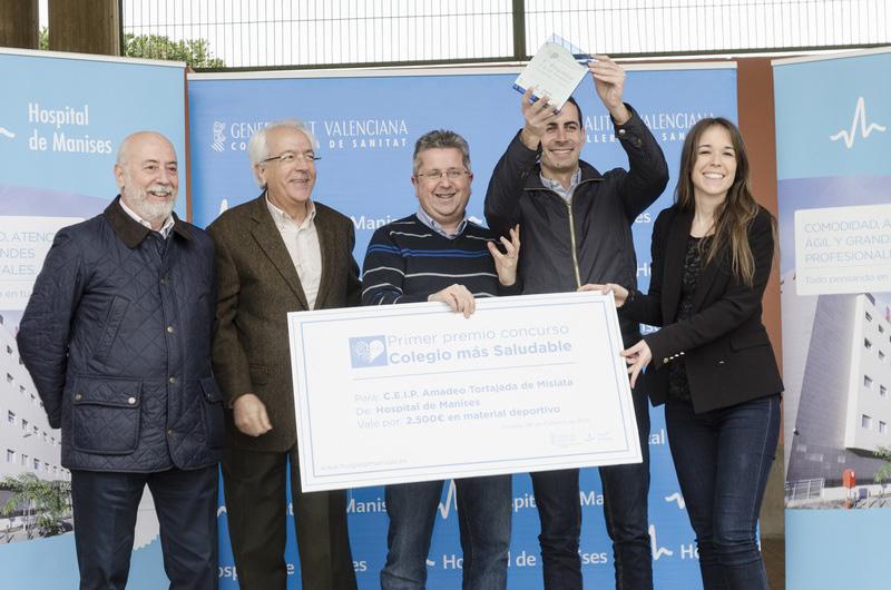 El CEIP Amadeo Tortajada de Mislata fue el ganador de la primera edición el año pasado.