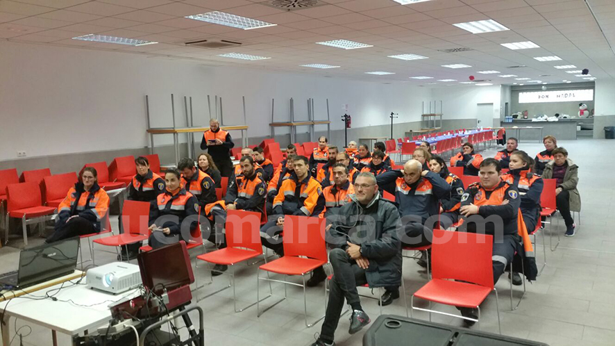 Participantes en la jornada desarrollada en Godelleta días atrás.