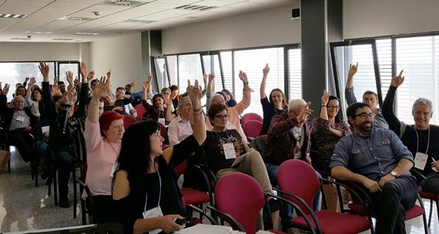 El II Congreso de la UI Comarques de l'Interior de CC OO se ha celebrado esta semana en Llíria.