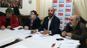 Reunión celebrada en Siete Aguas con representantes municipales y cargos orgánicos del PSPV-PSOE de La Hoya de Buñol-Chiva.
