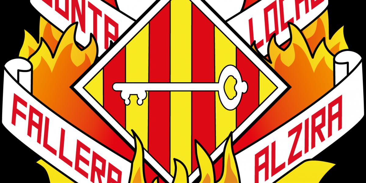 Escudo de la Junta Local Fallera de Alzira.