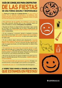 Aproximadamente el 40% de los jóvenes de la Comunidad Valenciana inician su consumo recreativo de alcohol durante las fiestas populares.