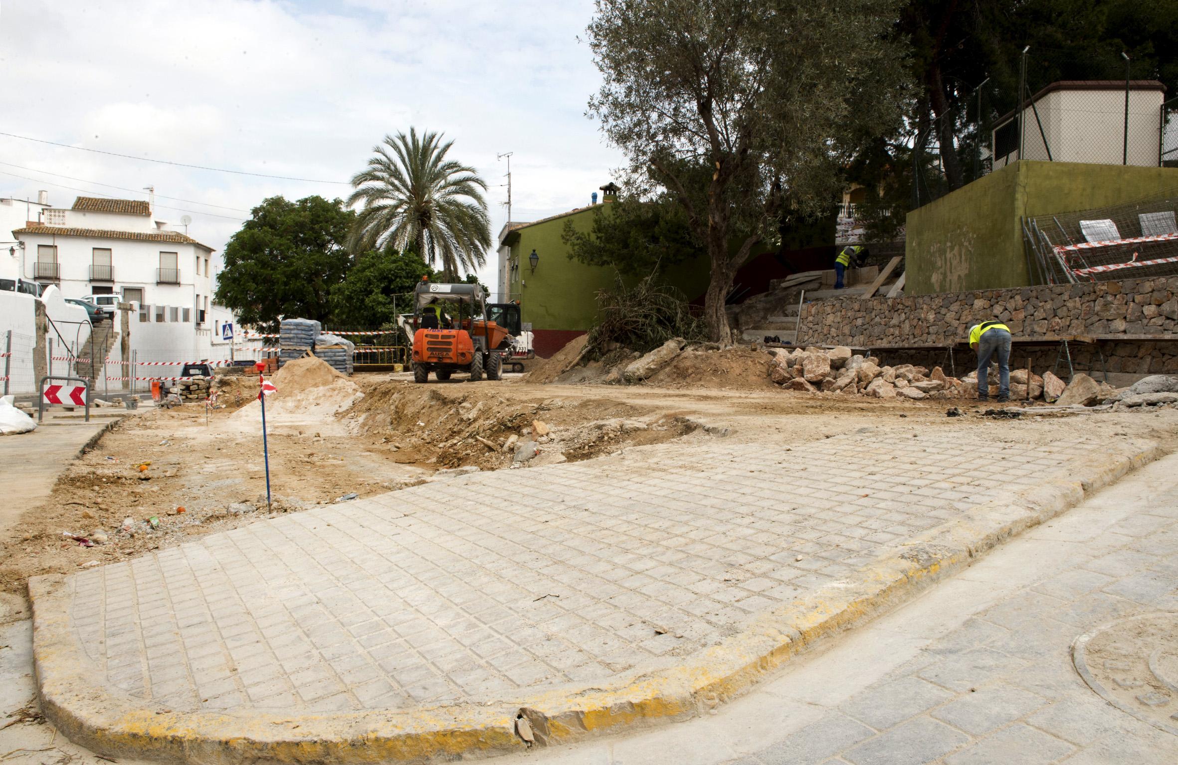 Obras ejecutadas a través del PIFS de la Diputación de Valencia.