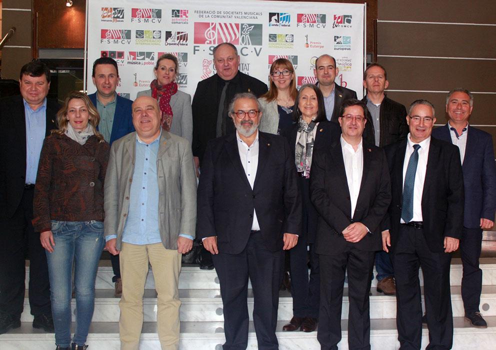 Las Sociedades Musicales ratifican la labor de la FSMCV.