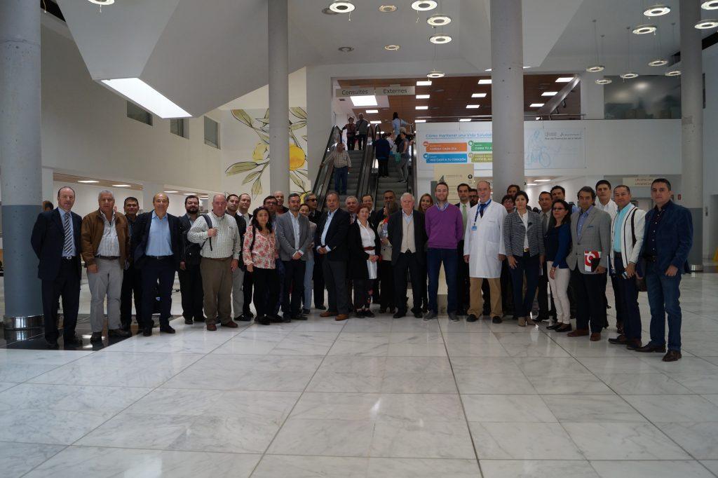 30 profesionales del sector sanitario de Colombia han visitado el Hospital de Manises para conocer la implementación y los resultados de este proyecto.