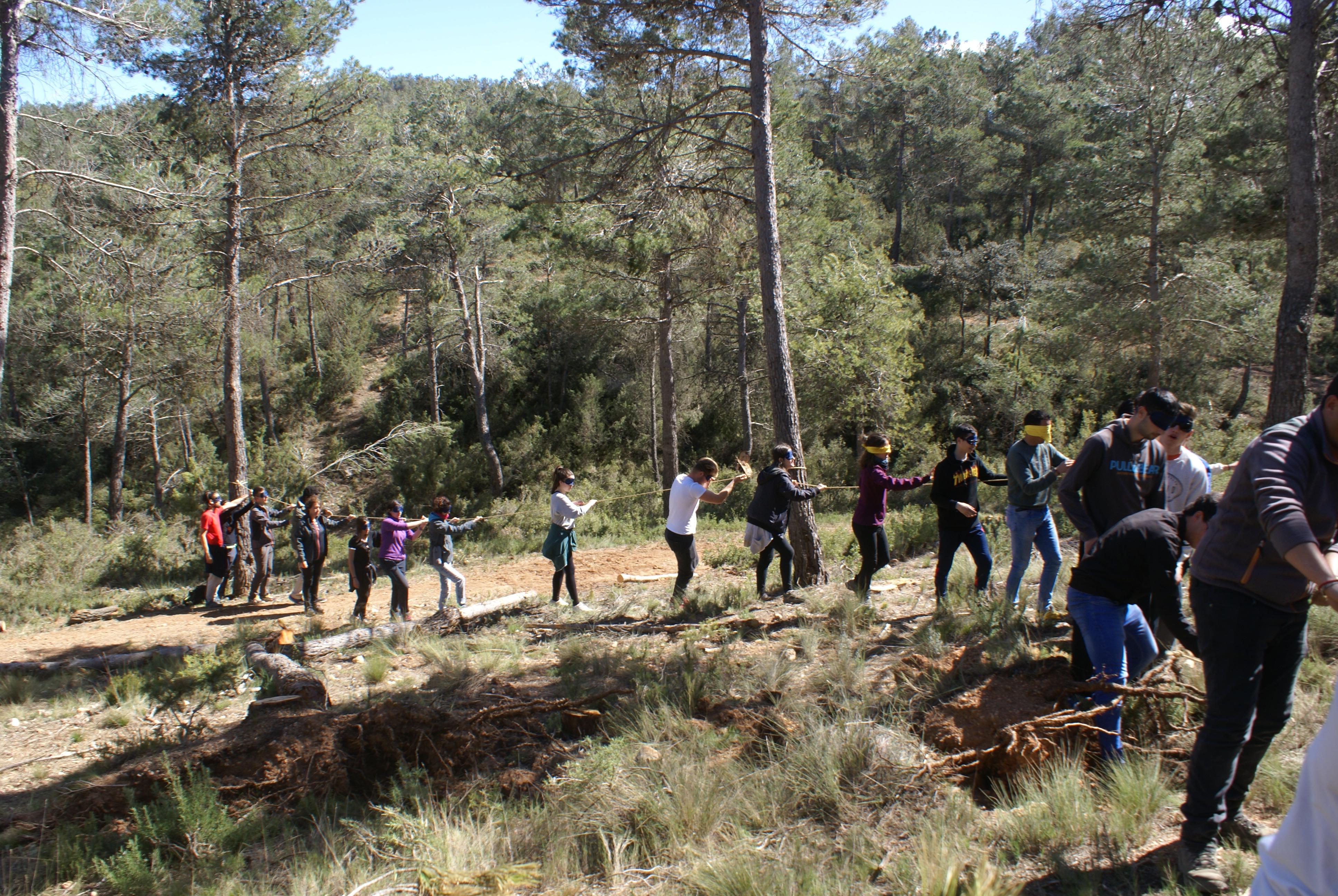 """Los alumnos aprenderán la importancia del medio forestal y su gestión sostenible que, en palabras del profesor Jorge Montés, """"es el primer paso para protegerlos y defenderlos""""."""