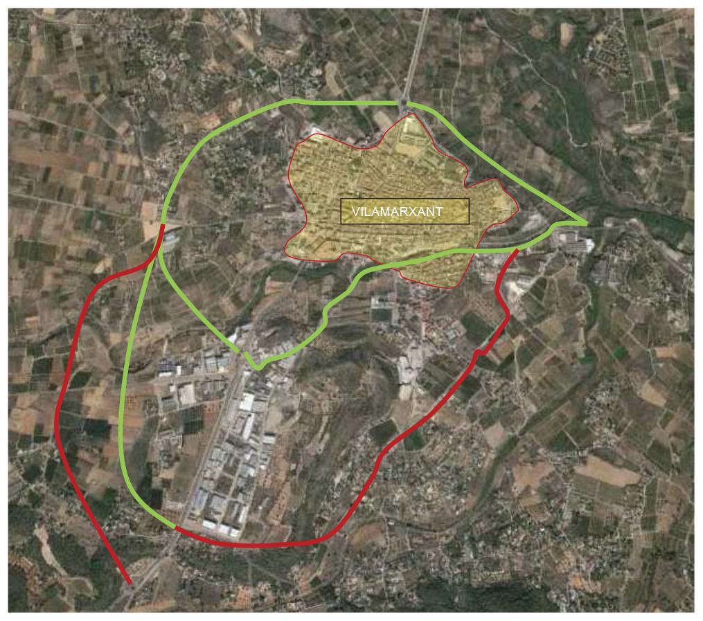 Se inician así los trámites para cumplir una reivindicación histórica de la localidad: desviar el tráfico del casco urbano.